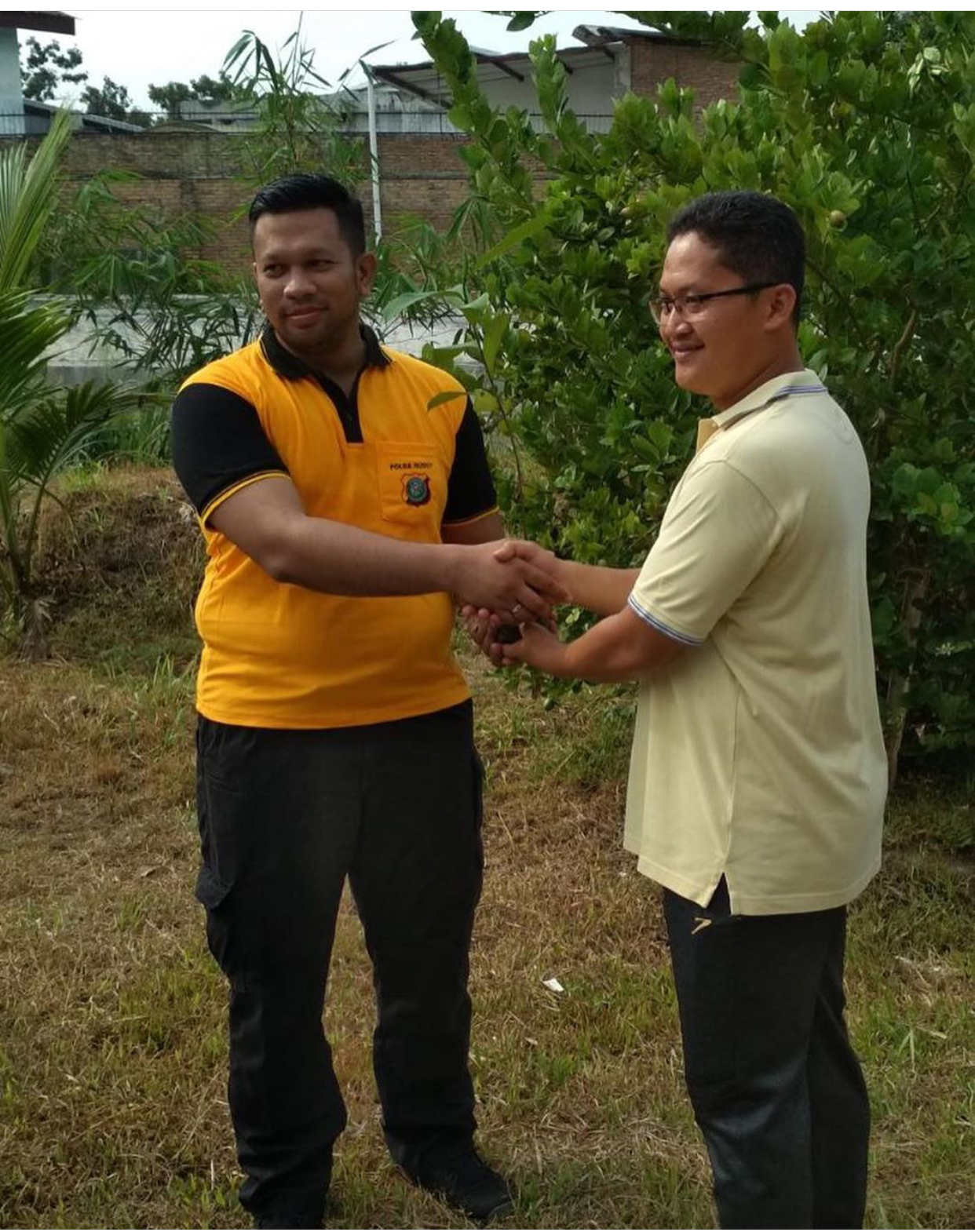 Penanaman Pohon Alur Sungai Babura di Kampung Mandailing Kelurahan Darat