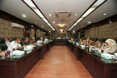 Sekda Pimpin Rapat Persiapan terhadap Pemeriksaan Belanja Daerah Kota Medan TA 2019